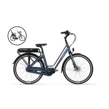 Popal E-volution 10 matt-blue 53cm elektrische damesfiets