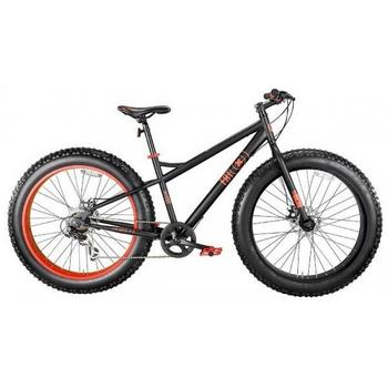 MBM Fat Machine 7-speed 26inch zwart Fatbike