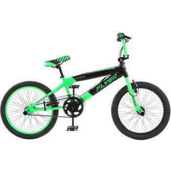 Magic Flyer 20inch groen Freestyle BMX