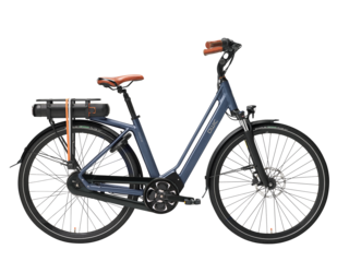 Qwic E-bike Premium MN8 Tour Dames Middenmotor Midnight Blue