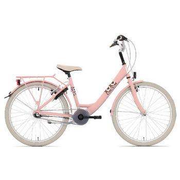 Bike Fun Lots of Love 20inch roze meisjesfiets
