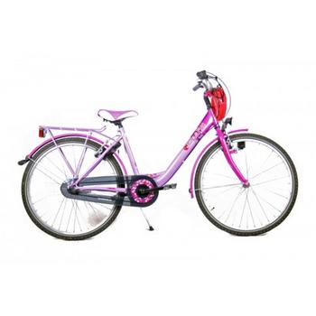 Bike Fun Girls Fun N3 26inch lila-paars meisjesfiets