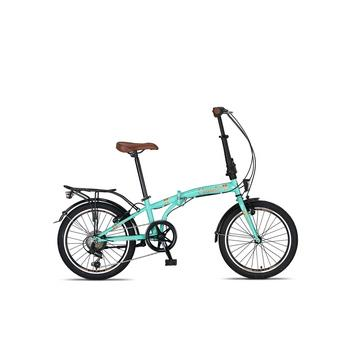 Umit Cunda 6-speed turquoise vouwfiets
