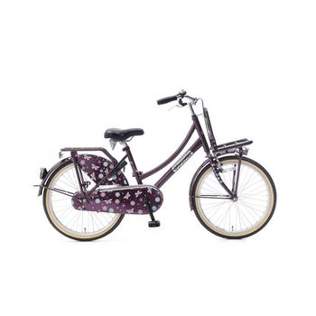 Popal Daily Dutch Basic 22inch paars Transportfiets