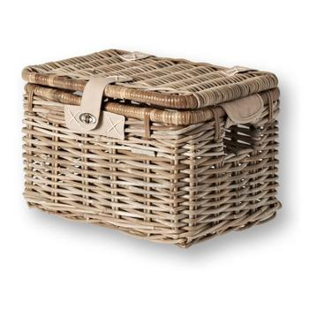 Mand Basil Riet Denton Basket M nature grey