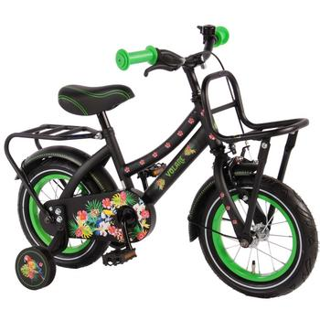 Volare Tropical Urban Transport 12inch zwart meisjesfiets