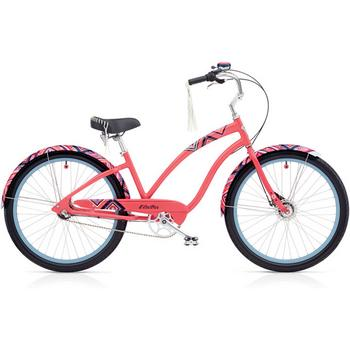 Electra Electra Cruiser Morning Star 3i 26inch pink coral damesfiets