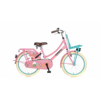 Popal Daily Dutch Basic 20inch bloom roze Transportfiets
