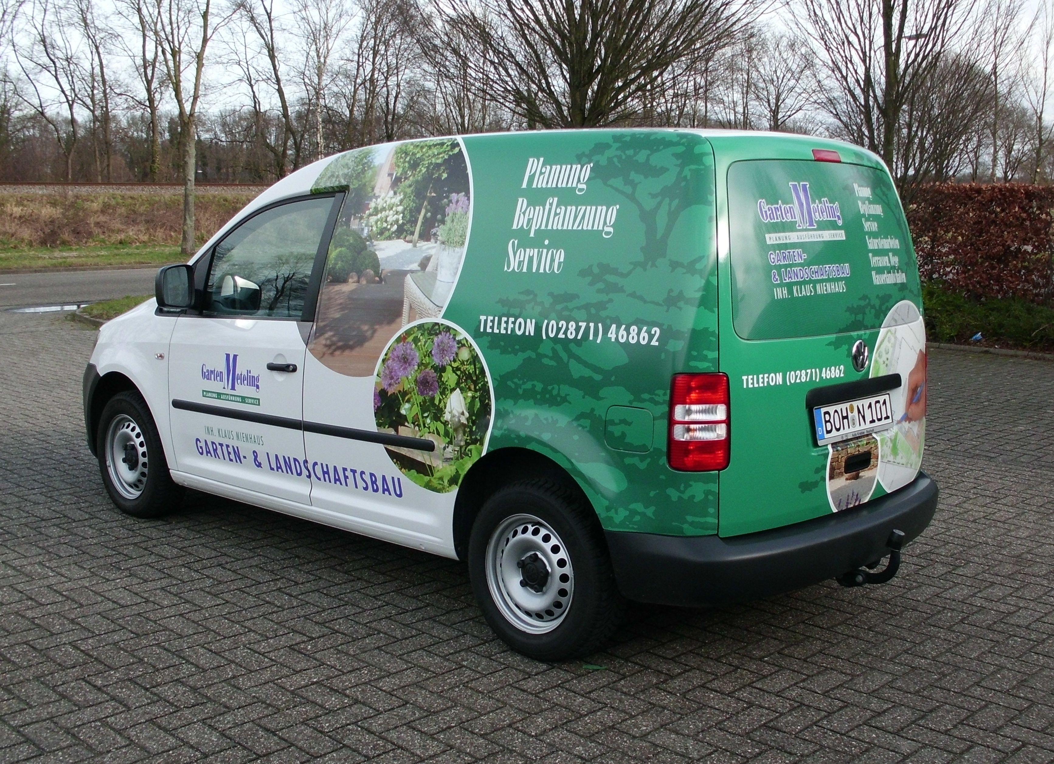 Project Autobelettering Garten Meteling Duropanel
