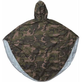 Peoples Poncho camo print volw