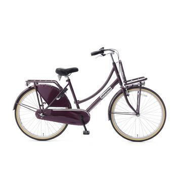 Popal Daily Dutch Basic Plus 26inch paars Transportfiets