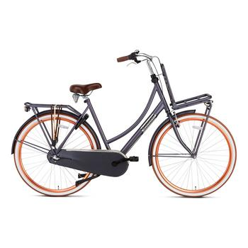 Popal Daily Dutch Basic Plus 50cm petrol blauw Transportfiets