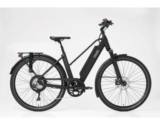 Qwic E-bike Performance RD11 Dames Achterwielmotor Matte Black