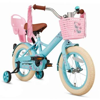 SuperSuper Little Miss 14inch turquoise meisjesfiets