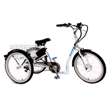 Mission Cycle E-Trike 7-speed wit elektrische driewieler