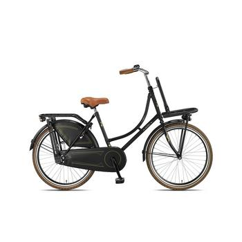 Altec London matzwart 24inch oma transportfiets