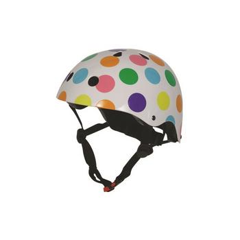 Kiddimoto pastel dotty Medium helm