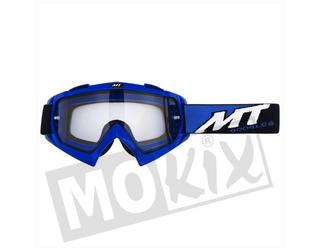 Bril Blauw Synchrony Steel MT Cross Off Road helm