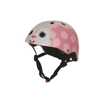 Kiddimoto pink bunny Medium helm