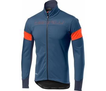 Transition Jacket-Light Steel Blue/Orange-Xxl
