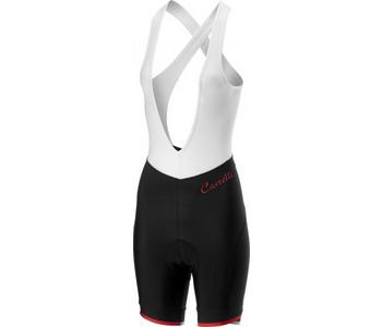 Castelli Vista Bibshort-Black/Red