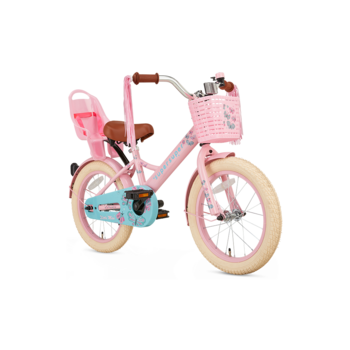 SuperSuper Little Miss 16inch roze meisjesfiets