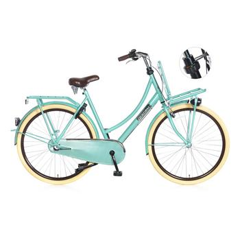 Popal Daily Dutch Basic Plus 50cm groen Transportfiets