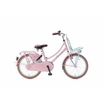 Popal Daily Dutch Basic 20inch mint roze Transportfiets