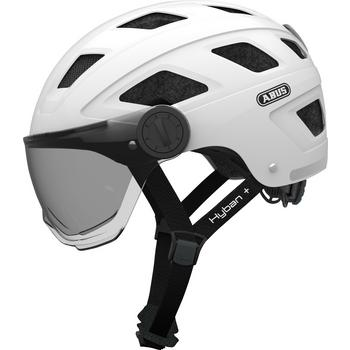 Abus Hyban+ L white cream fiets helm