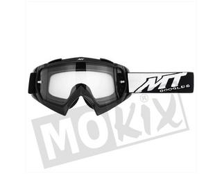 Bril Zwart Synchrony Steel MT Cross Off Road helm