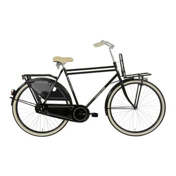 Hollandia Royal Dutch zwart-creme 52cm Heren transportfiets