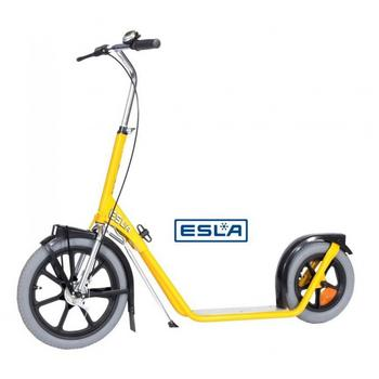 Esla Scooter 4102 yellow bedrijfs step