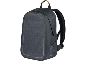 Basil backpack Urban dry charcoal melee