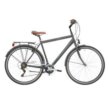 Excel Central Park 18-speed antraciet 48cm herenfiets
