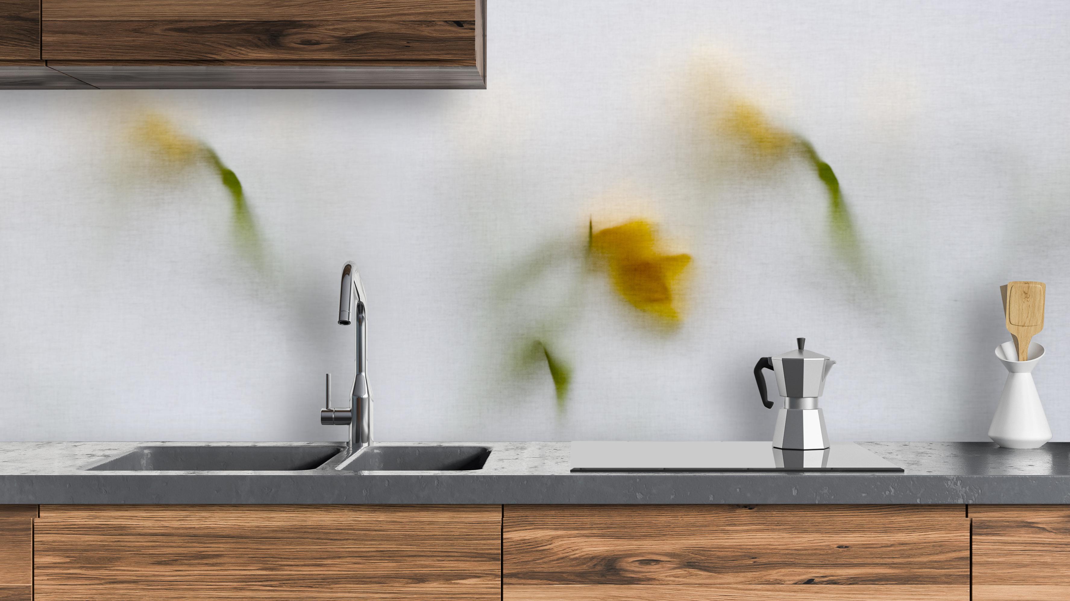 Foggy flowers pimp your kitchen