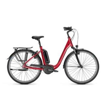 Raleigh Kingston N8 baloro red 55cm elektrische damesfiets