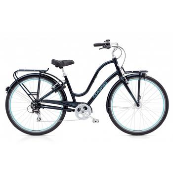 Electra Townie Commute 8D EQ galaxy black damesfiets