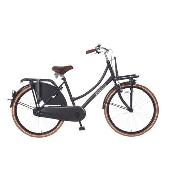 Popal Daily Dutch Basic 26inch matzwart Transportfiets