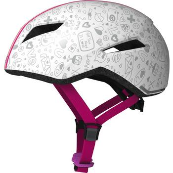 Abus Yadd I Kids white crush M kinder helm