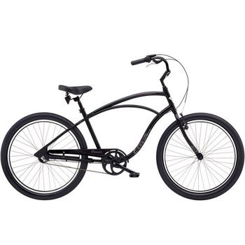Electra Cruiser Lux 3i 26inch black herenfiets