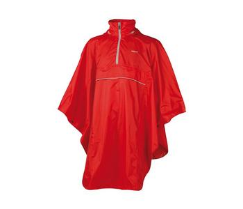 JACK TRACK PONCHO RED ONE SIZE