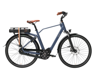 Qwic E-bike Premium MN8 Tour Heren Middenmotor Midnight Blue