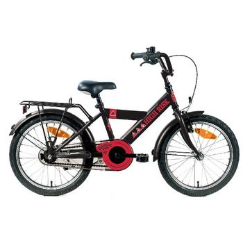 Bike Fun High Risk 12inch zwart  jongensfiets