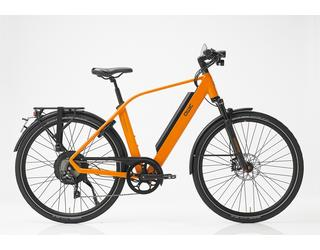 Qwic E-bike Performance RD10speed Dames Achterwielmotor Dutch Orange