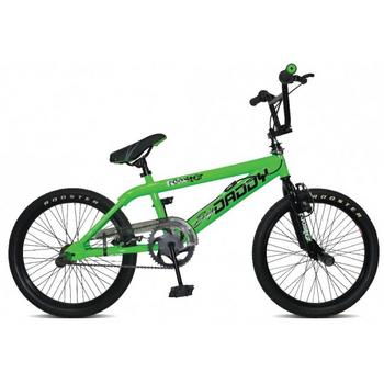 Rooster Big Daddy 20inch groen-zwart Freestyle BMX