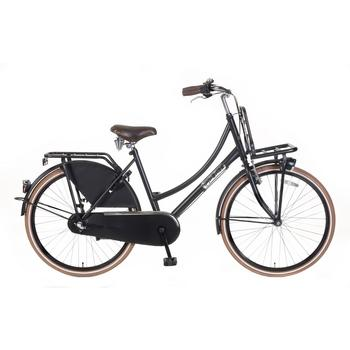 Popal Daily Dutch Basic Plus 26inch matzwart Transportfiets