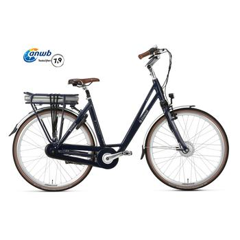 Popal E-volution 5.0 steel-blue 47cm elektrische damesfiets