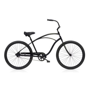 Electra Cruiser 1 Men's 26inch Tall matte black herenfiets