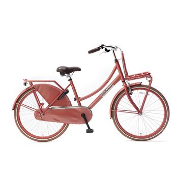 Popal Daily Dutch Basic Plus 24inch flamingo Transportfiets