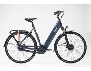 Qwic E-bike Urban FN7 Dames Voorwielmotor Midnight Blue
